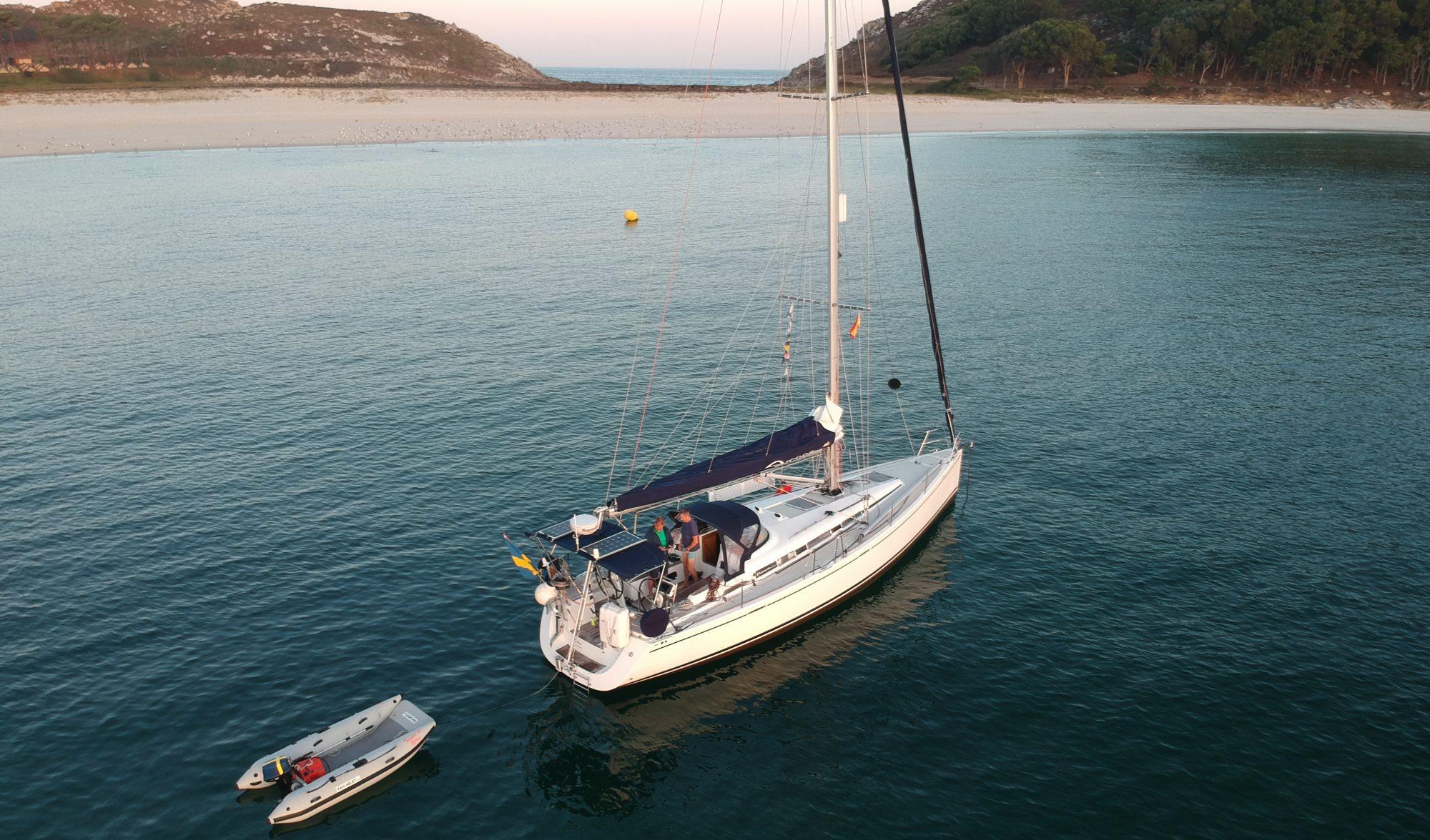 Ellen sailing